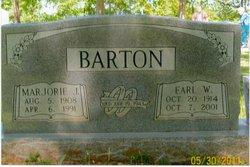 Earl W Barton