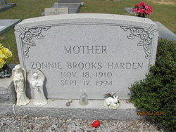 Zonnie Summeralls <I>Brooks</I> Harden