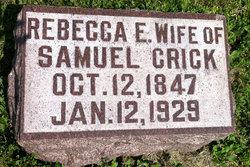 Rebecca Elizabeth <I>Lindsey</I> Crick