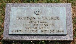 PVT Jackson A Walker