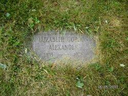 Elizabeth <I>Gordon</I> Alexander