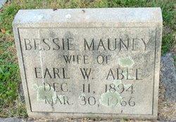 Bessie <I>Mauney</I> Abee