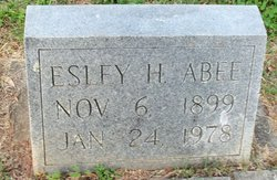 Esley Horace Abee