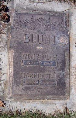 Wendell Harrison Blunt