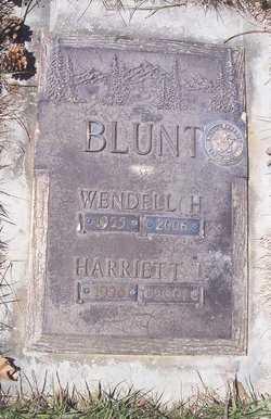 Harriett Luan <I>Nichols</I> Blunt