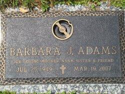 Barbara J Adams