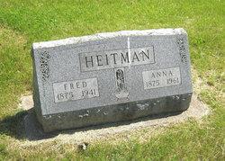 Anna <I>Henning</I> Heitman