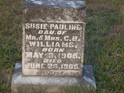 Susie Pauline Williams