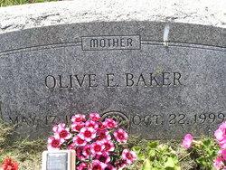 Olive E <I>Caldwell</I> Baker