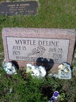 Myrtle <I>Hayes</I> Deline