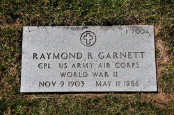 Raymond R Garnett