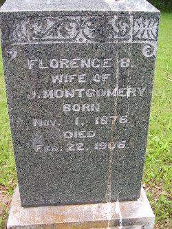 Florence Belle <I>Maze</I> Montgomery