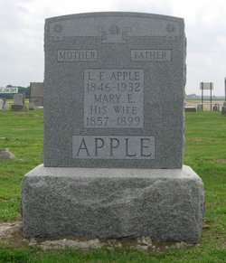 Mary Ettie <I>Newlin</I> Apple