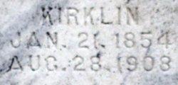 "Kirklin Monroe ""Kirk"" Sackett"