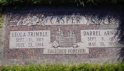 Leola <I>Trimble</I> Casper