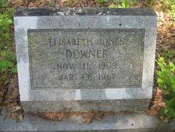 Elisabeth <I>Jones</I> Downer