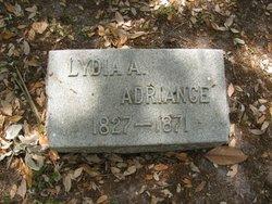 Lydia Ann <I>Cooke</I> Adriance