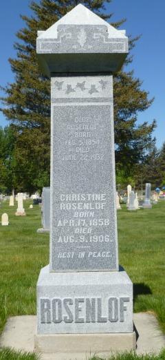 "Christina ""Stena"" <I>Simpson</I> Rosenlof"