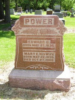 Mary E Power