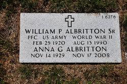 William P Albritton, Sr