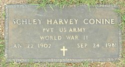 Pvt Schley Harvey Conine