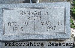 Hannah Arrilla <I>Banning</I> Riker