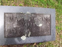 Mary V <I>Cowan</I> Mote