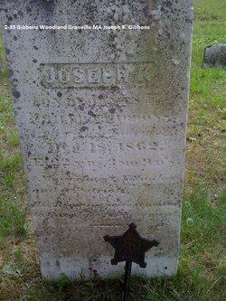 Joseph K Gibbons