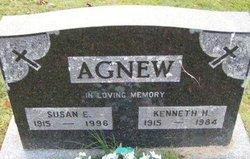 Susan E <I>Dunlap</I> Agnew