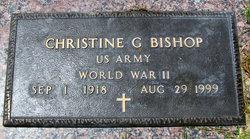 Christine G Bishop