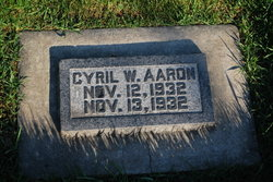 Cyril W. Aaron