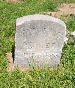 Gertrude <I>Vance</I> Hunter