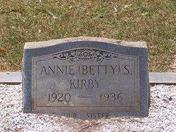 "Annie S ""Betty"" Kirby"