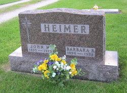 Barbara Bridget <I>Schmitz</I> Heimer