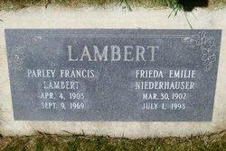 Parley Francis Lambert