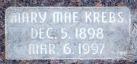 Mary Mae <I>Krebs</I> Seely