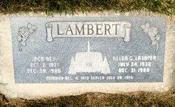 Jack Rey Lambert