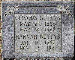 Hannah <I>Hamrick</I> Gettys