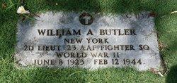 2LT William A Butler