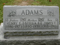 Stella Feba <I>Daniels</I> Adams