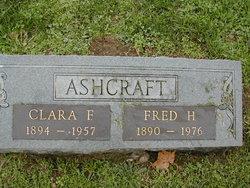 Clara Florence <I>Draper</I> Ashcraft