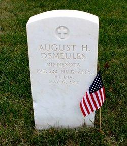 August H Demeules