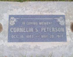 Cornelia <I>Staker</I> Peterson