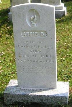 Abbie B. <I>Shattuck</I> Dodge