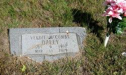 Verdie M. <I>McCombs</I> Ozley