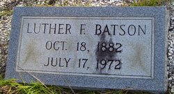 Luther F Batson