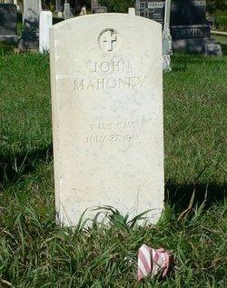 """John J. """"Jack"""" Mahoney"""