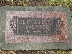Jean Blackwood <I>Lindsay</I> Sheppard