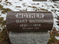 Mary <I>Russell</I> Massie