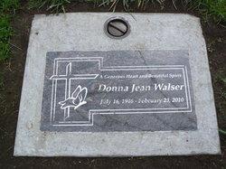 Donna Jean <I>Brown</I> Walser